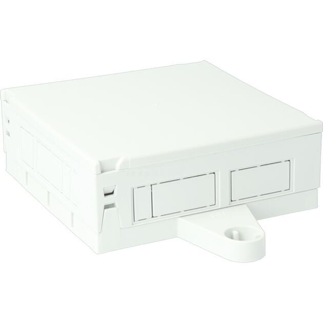Steckbar Gehäuse Multi-PD, unbestückt, M20, GST18/WINSTA MIDI 3/4/5-pol, BST14, 120x120x45 mm, lichtgrau