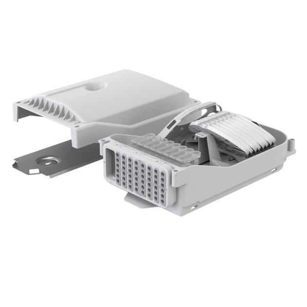 Gebäudeverteiler Gf-GV, 96 Fasern, HS, 48 Ausgänge, Loop, IP65