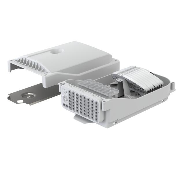 Gebäudeverteiler Gf-GV, 96 Fasern, HS, 48 Ausgänge, IP65