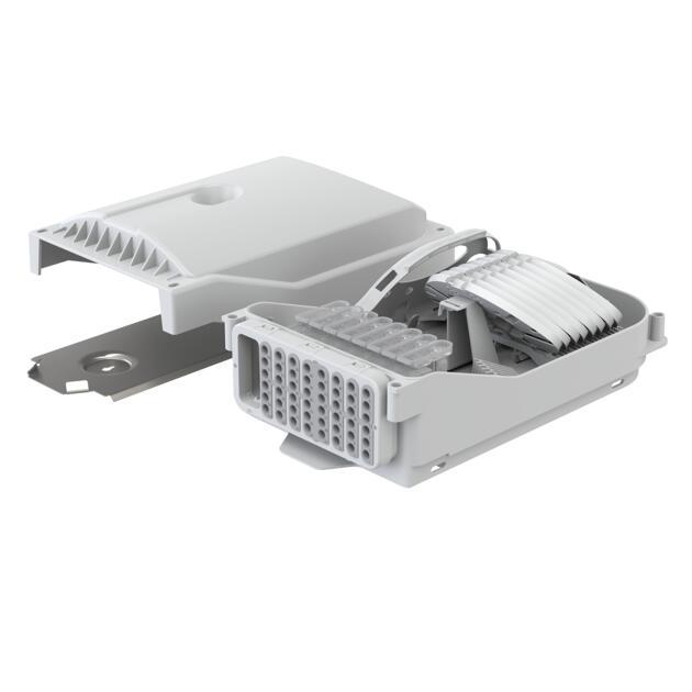 Gebäudeverteiler Gf-GV, 96 Fasern, ANT, 48 Ausgänge, Loop, IP65