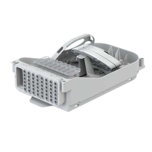 Splice distributor box FMP, 96 fibres, CSP, 48 outlets, loop