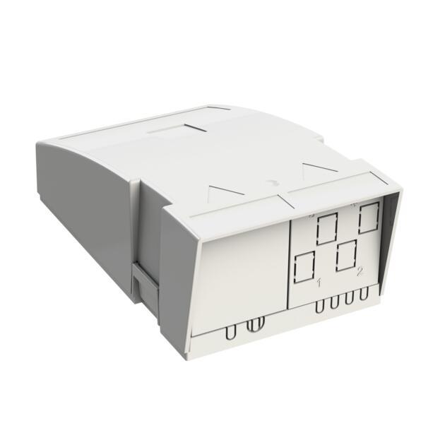 Hausübergabepunkt HÜP, 4 Fasern, 2 LC/APC DX