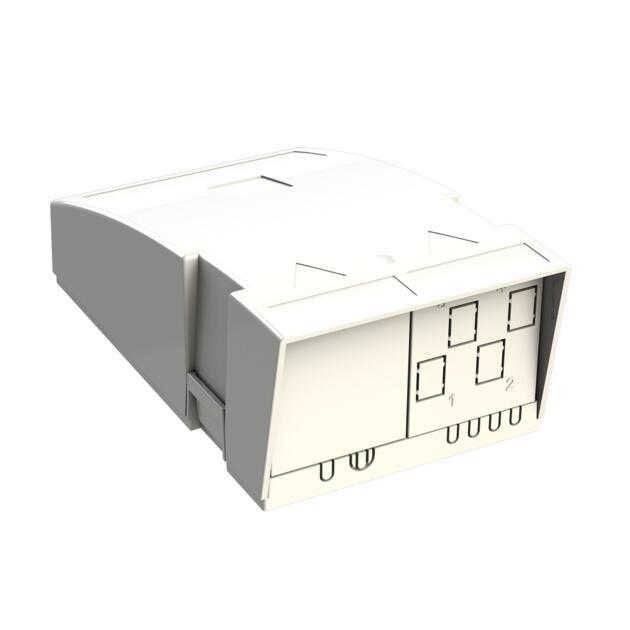 Hausübergabepunkt HÜP, 8 Fasern, 4 LC/APC DX