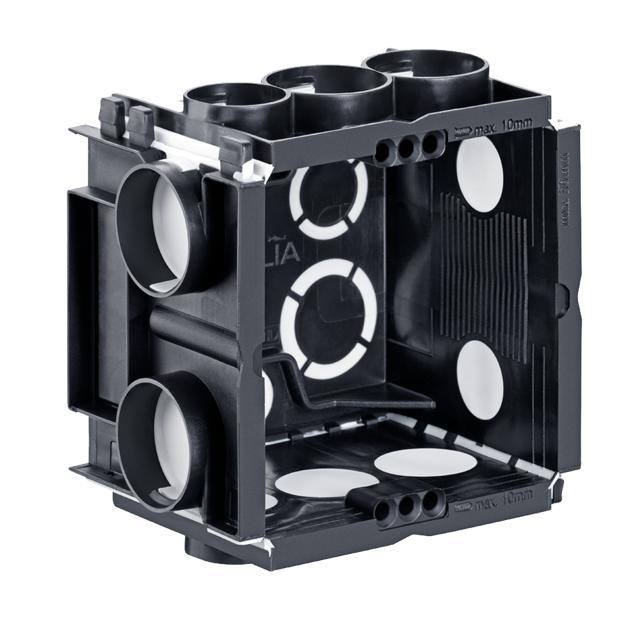 Q-range ECON® Gerätedose