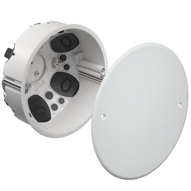 Verbindungsdose Ø 120 mm O-range ECON®