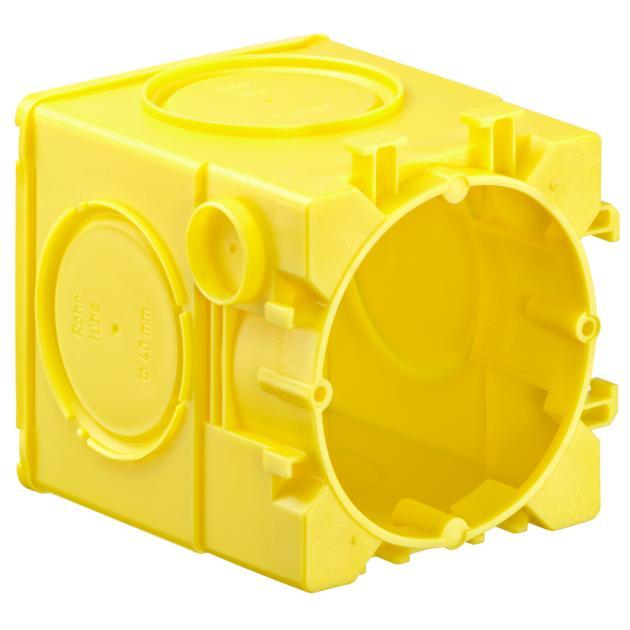 Geräte-Verbindungsdose ohne Putzhaut