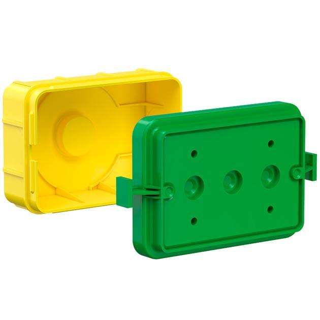 Gerätedose für italienische und amerikanische Geräteeinsätze
