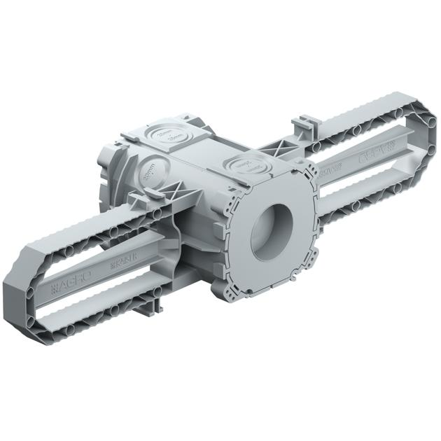 Prefix® Beton-Einbaudose 1x1 / Ø 30 mm