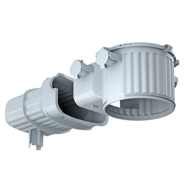 HaloX® 100 mit Tunnel 190 für Ortbeton
