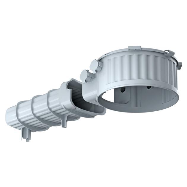 HaloX® 180 mit Tunnel 325 für Ortbeton