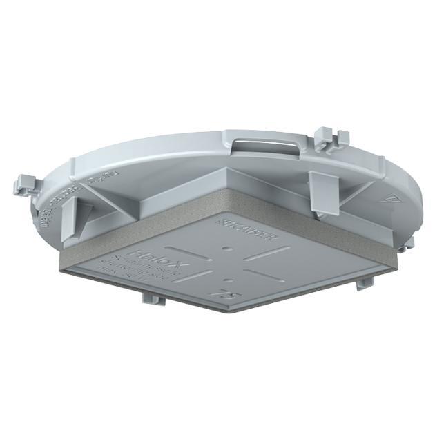 HaloX® 100 Frontteile, quadratisch für Sichtbeton