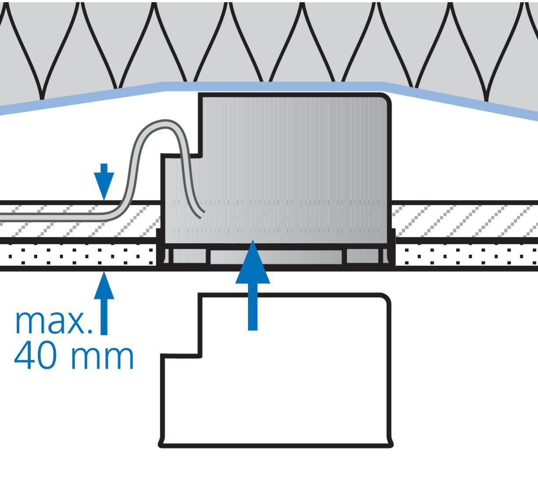 thermox dekorblenden system thermox f r ged mmte hohldecken einbaugeh use elektro. Black Bedroom Furniture Sets. Home Design Ideas