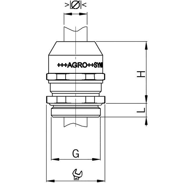 Kabelverschraubungen Syntec® Messing mit Lamellentechnik