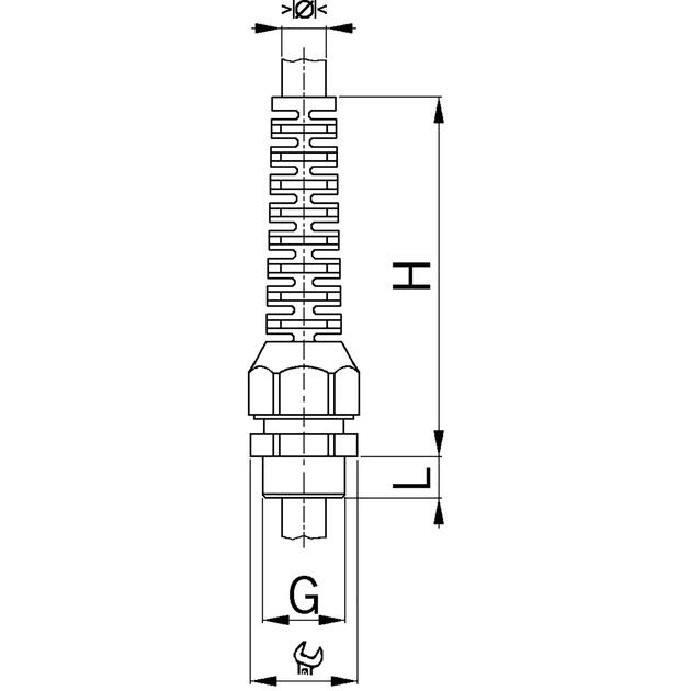 Kabelverschraubungen Syntec® Kunststoff mit Lamellentechnik und Knickschutz