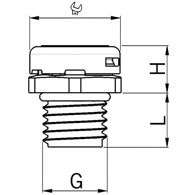 Kunststoff Druckausgleichselement mit Membrane