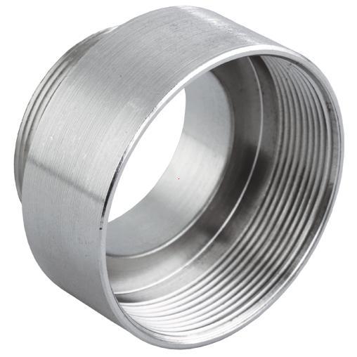 Enlarging fittings nickel-plated brass