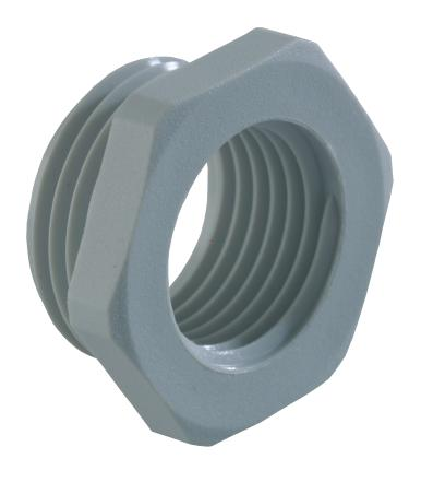 Synthetic reduction fittings