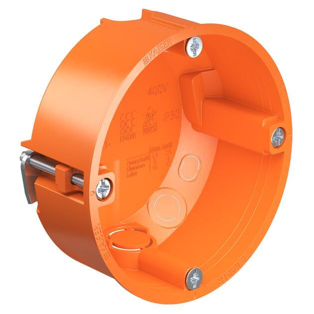 Gerätedose O-range® für dünne Beplankungen